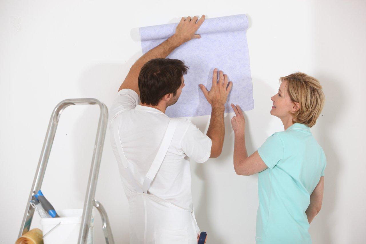 gro e tapetenauswahl es muss nicht immer raufaser sein. Black Bedroom Furniture Sets. Home Design Ideas